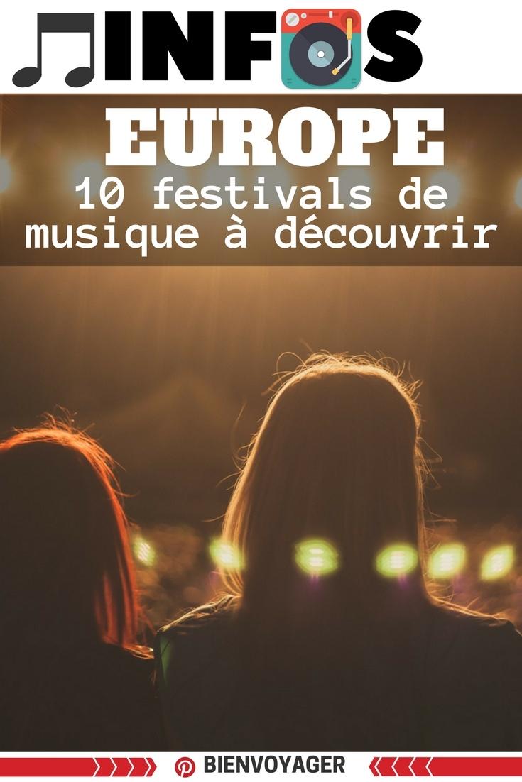110 festivals musique europe