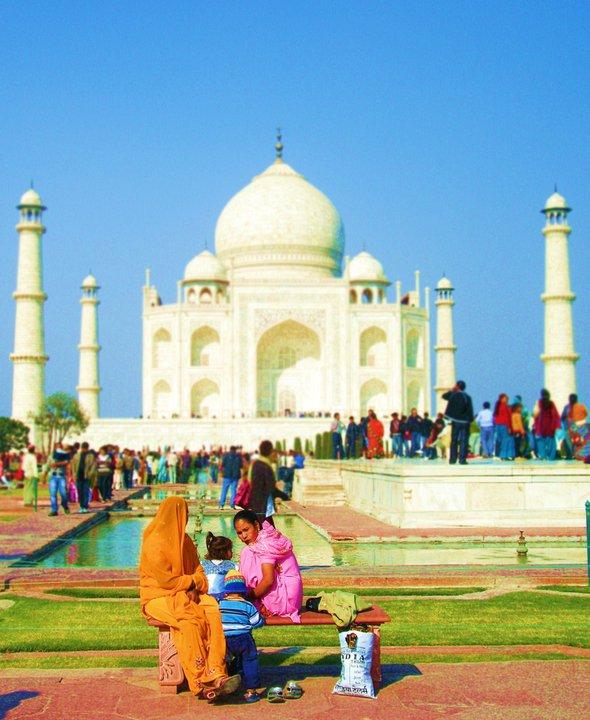 partir vivre en Inde Taj Mahal