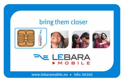 Restez en contact avec vos proches avec Lebara Mobile