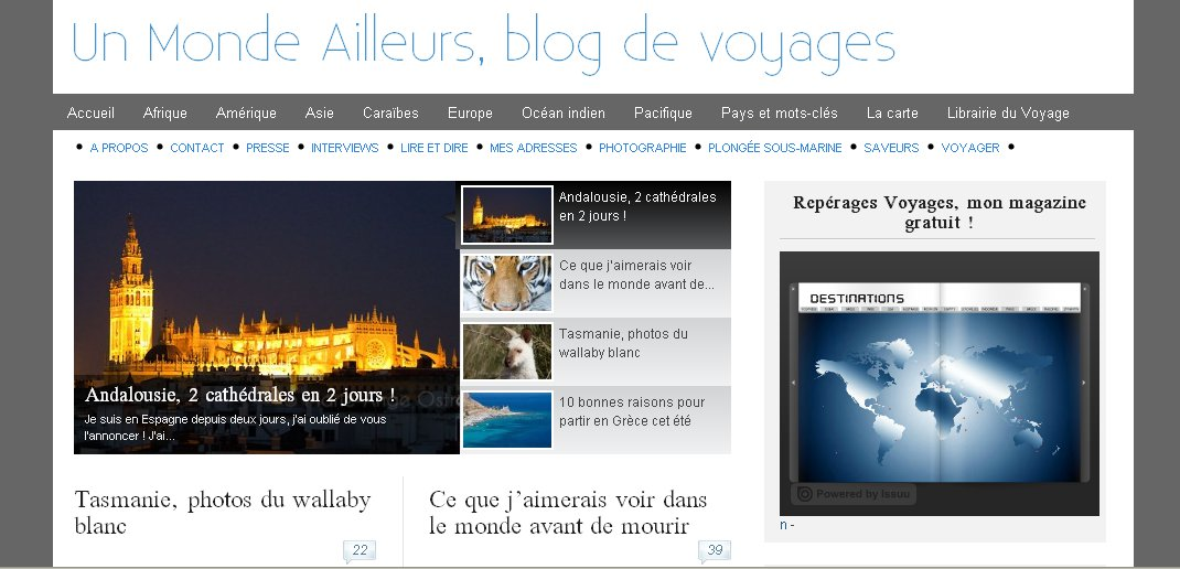 Interview d'une grande voyageuse et blogueuse : Marie-Ange Ostré