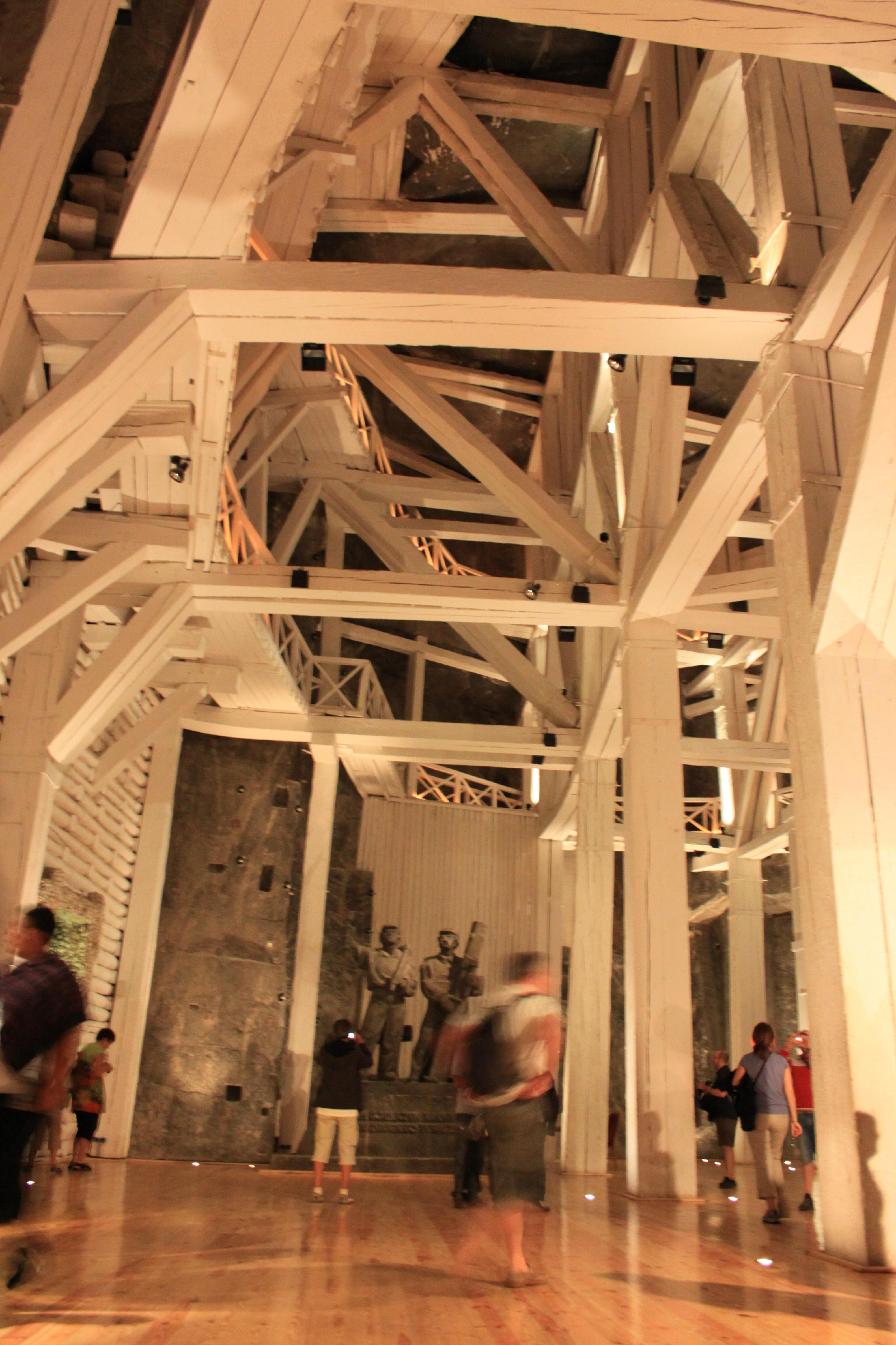 #Pologne Mine de Sel de Wieliczka, merveille inscrite dans la liste de l'Unesco