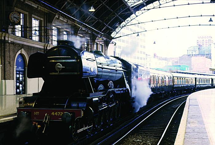 Voyage en train à bord de l'Orient Express