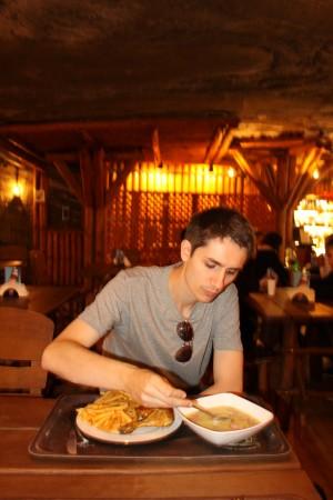 restaurant wieliczka 300x450, Wieliczka Pologne mine de sel Cracovie