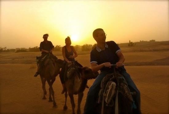 Une nuit dans le désert de Merzouga, au Maroc