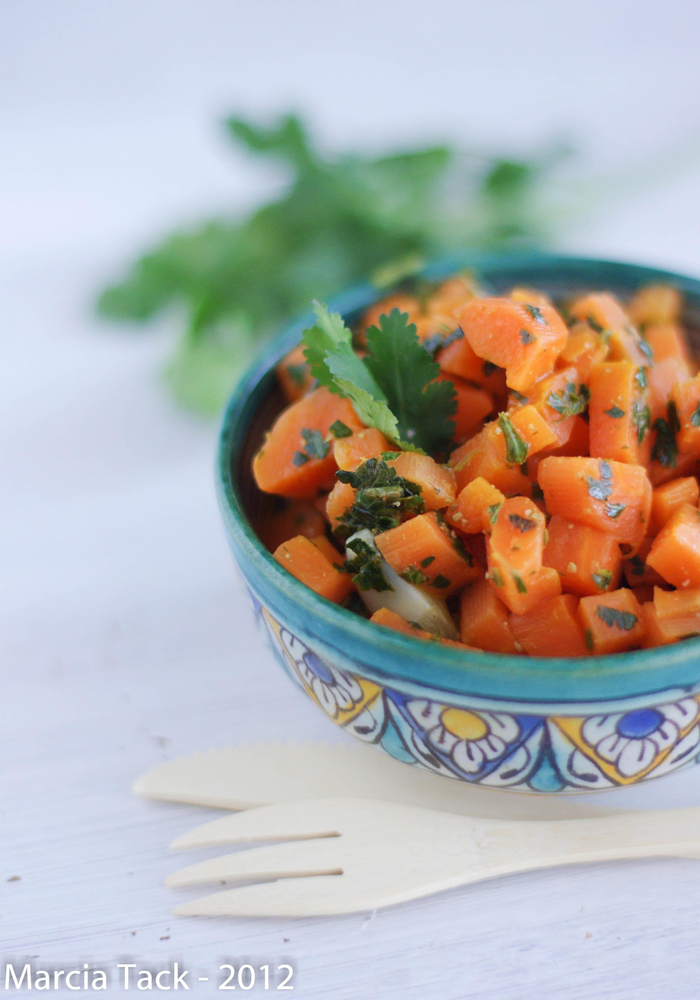 Salade de carottes comme au Maroc