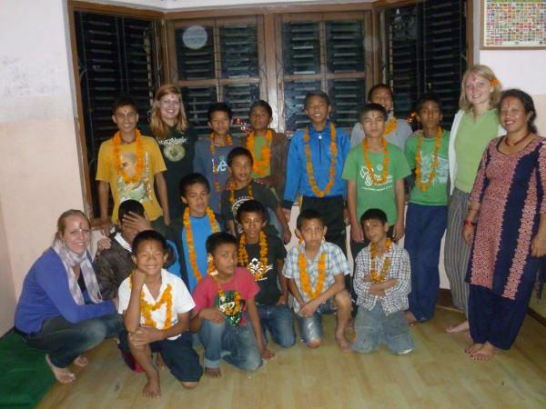 expérience humaniraite au Népal