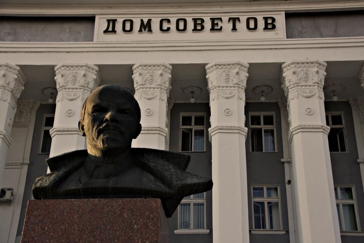 Tiraspol, capitale d'un pays, la Transnistrie, qui n'existe pas...