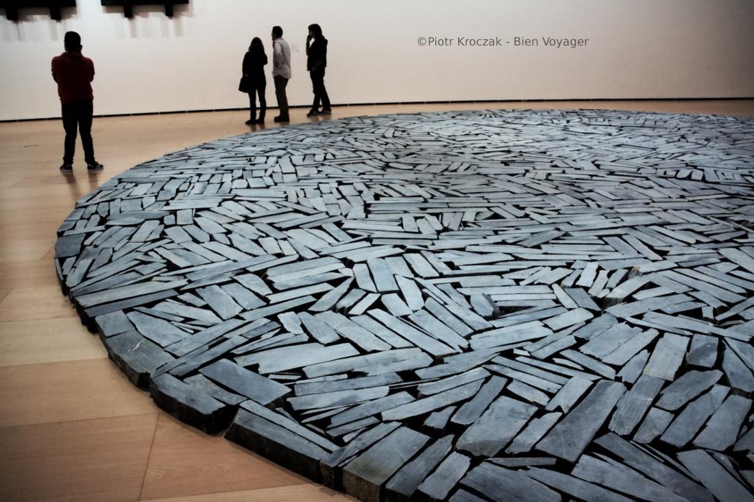 Contemplation… ou pas à Guggenheim