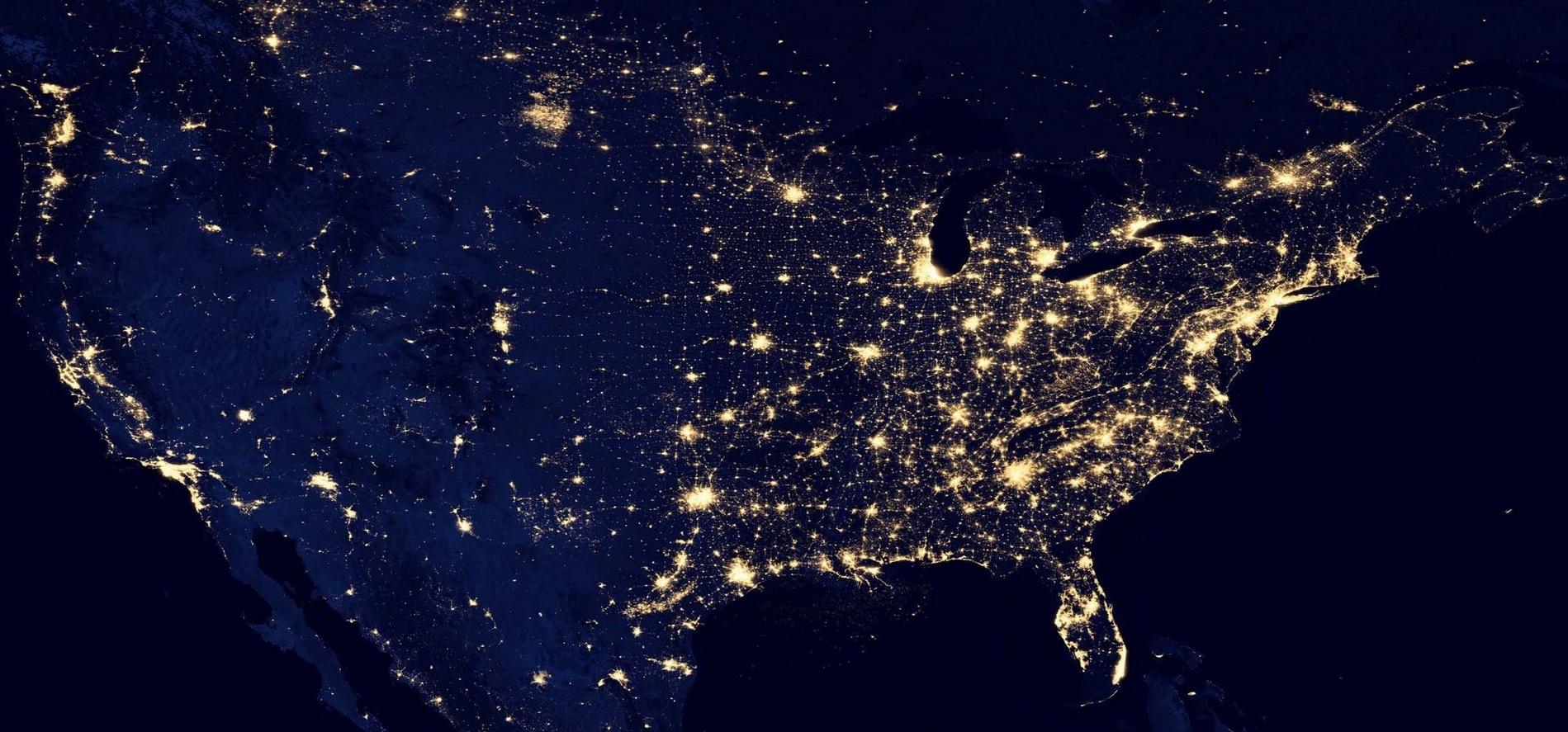 USA la nuit