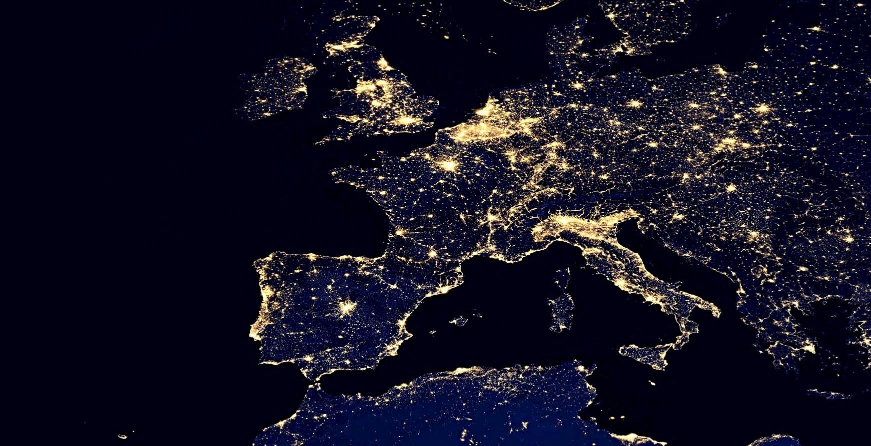 L'Europe la nuit