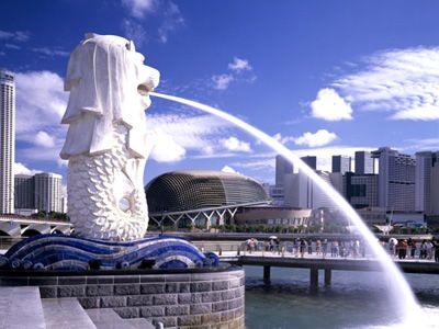 singapour merlion