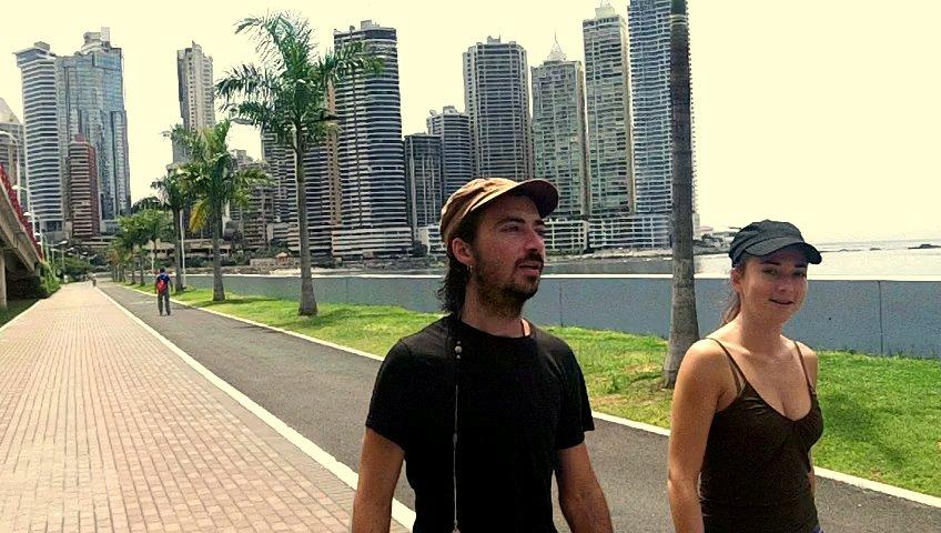 Petite promenade sur la baie de Panama city