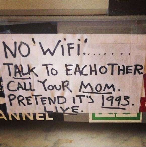 pas wifi appelle maman