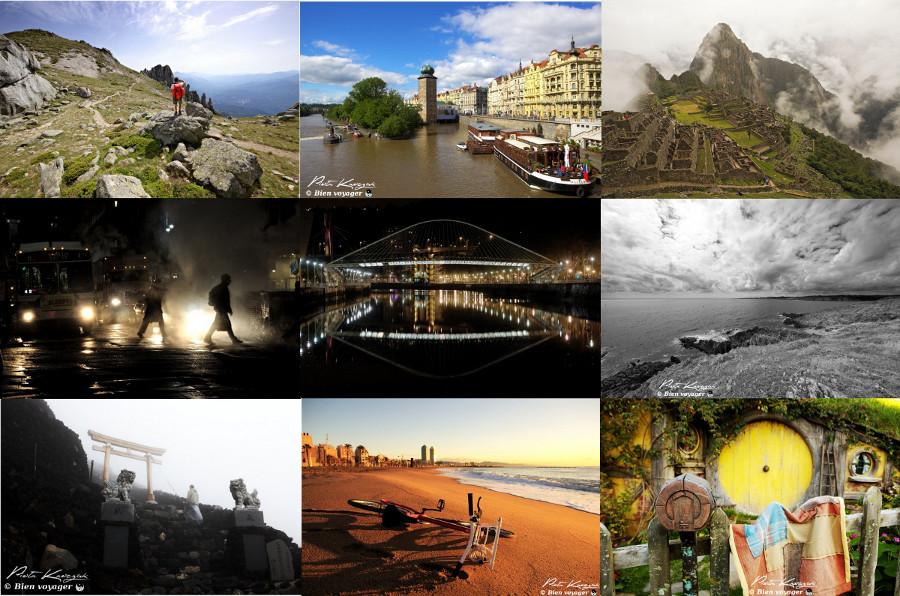 2013 : New-York, Pérou, Nouvelle-Zélande, Chine, Japon, Tanzanie...