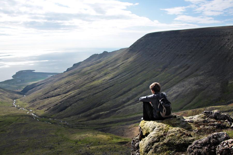 Balade jusqu'au mont Esja en Islande
