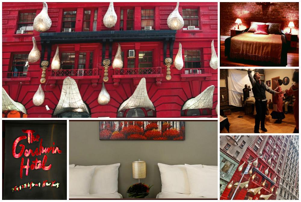 Collage gershyn hotel
