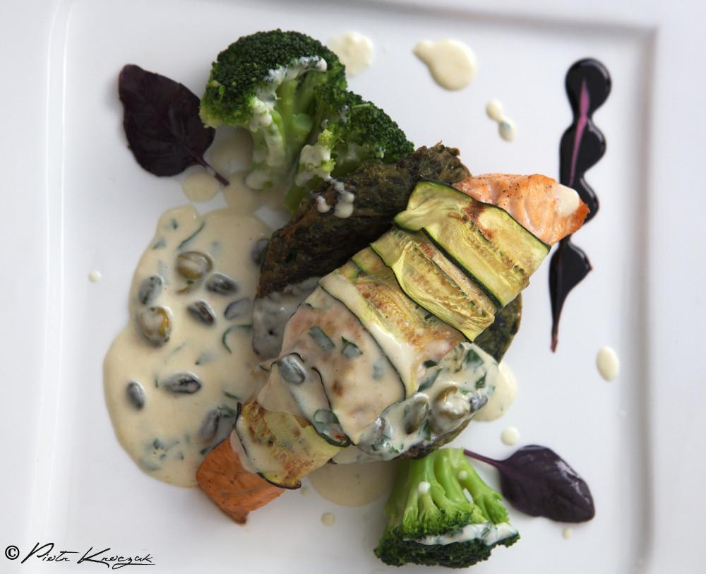 saumon aubergine - ksiaz