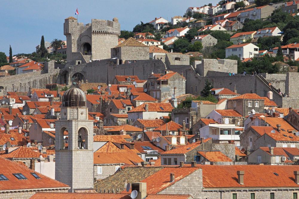 Croatie Dubrovnik toit