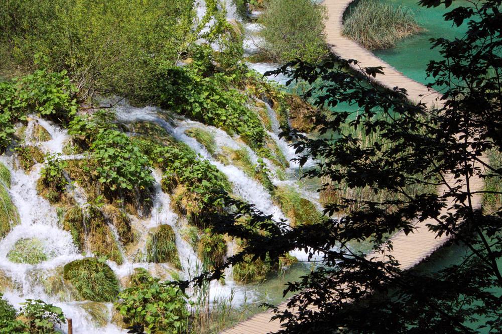 Croatie Lac Plitvice