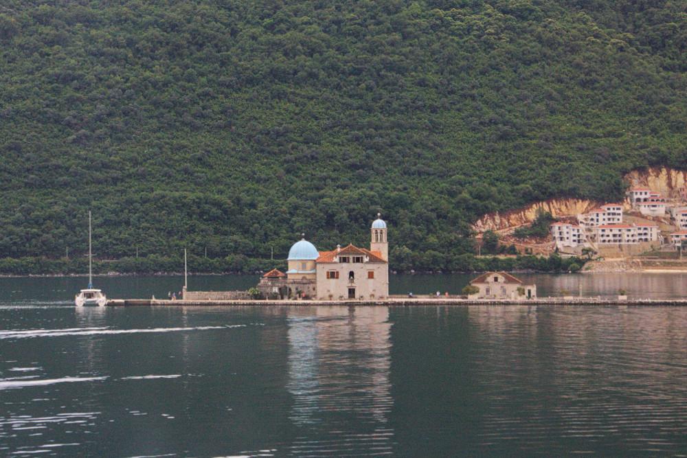 Perast Eglise Lac Kotor