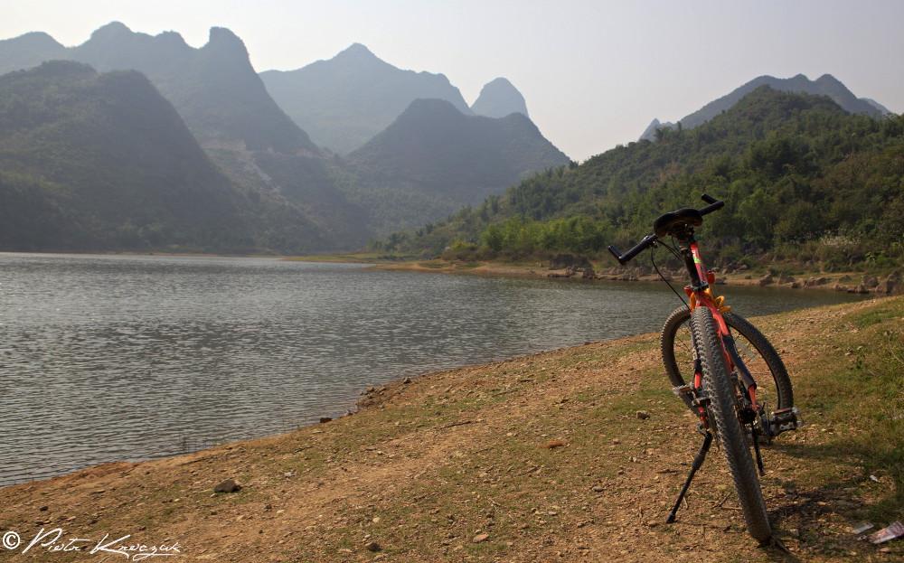lac non loin d Xinping (1)