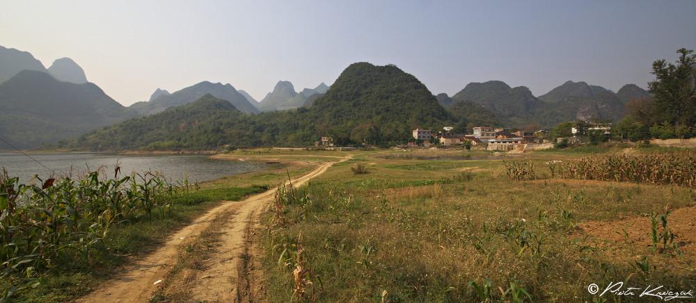 lac non loin d Xinping (2)