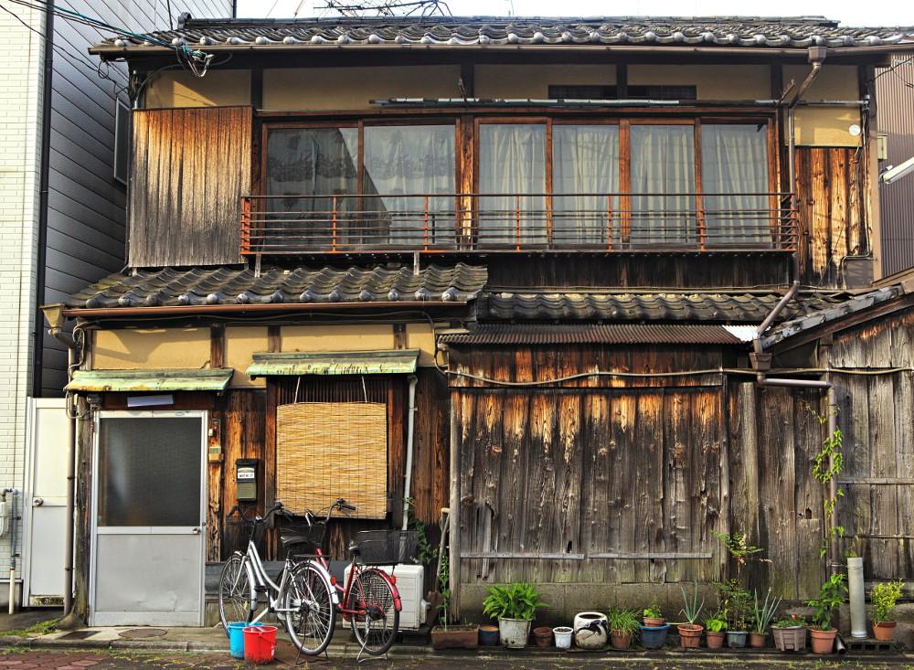 vieille maison bois Kyoto