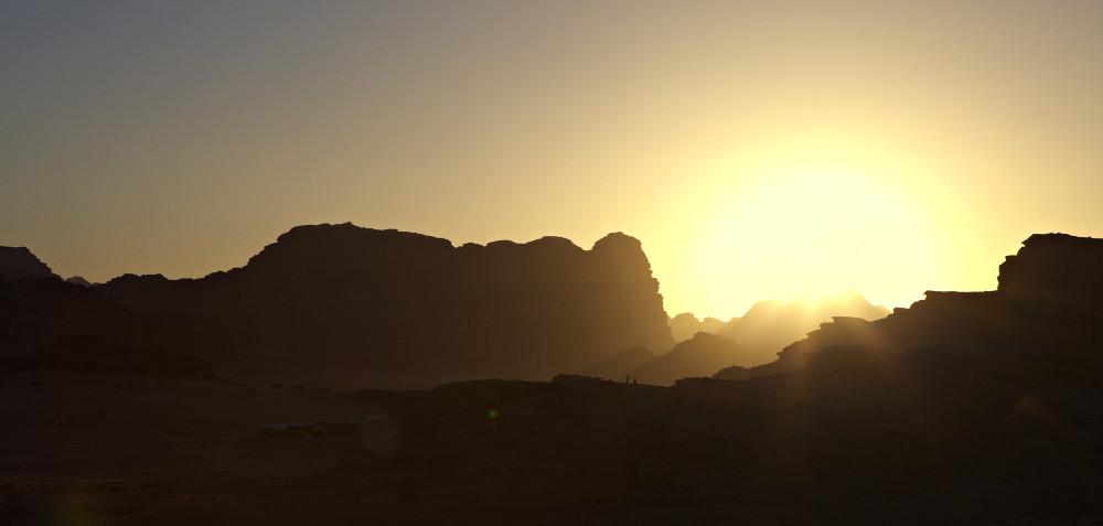 coucher soleil wadirum