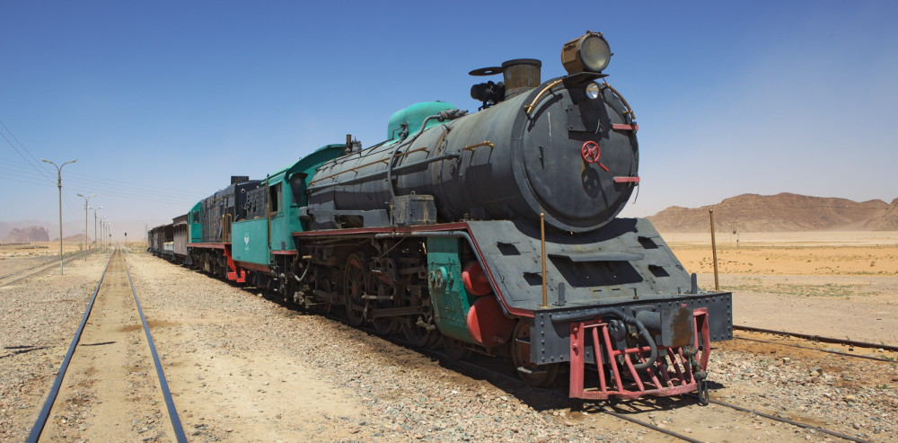 jordanie - train