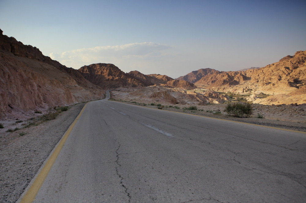 route jordanie