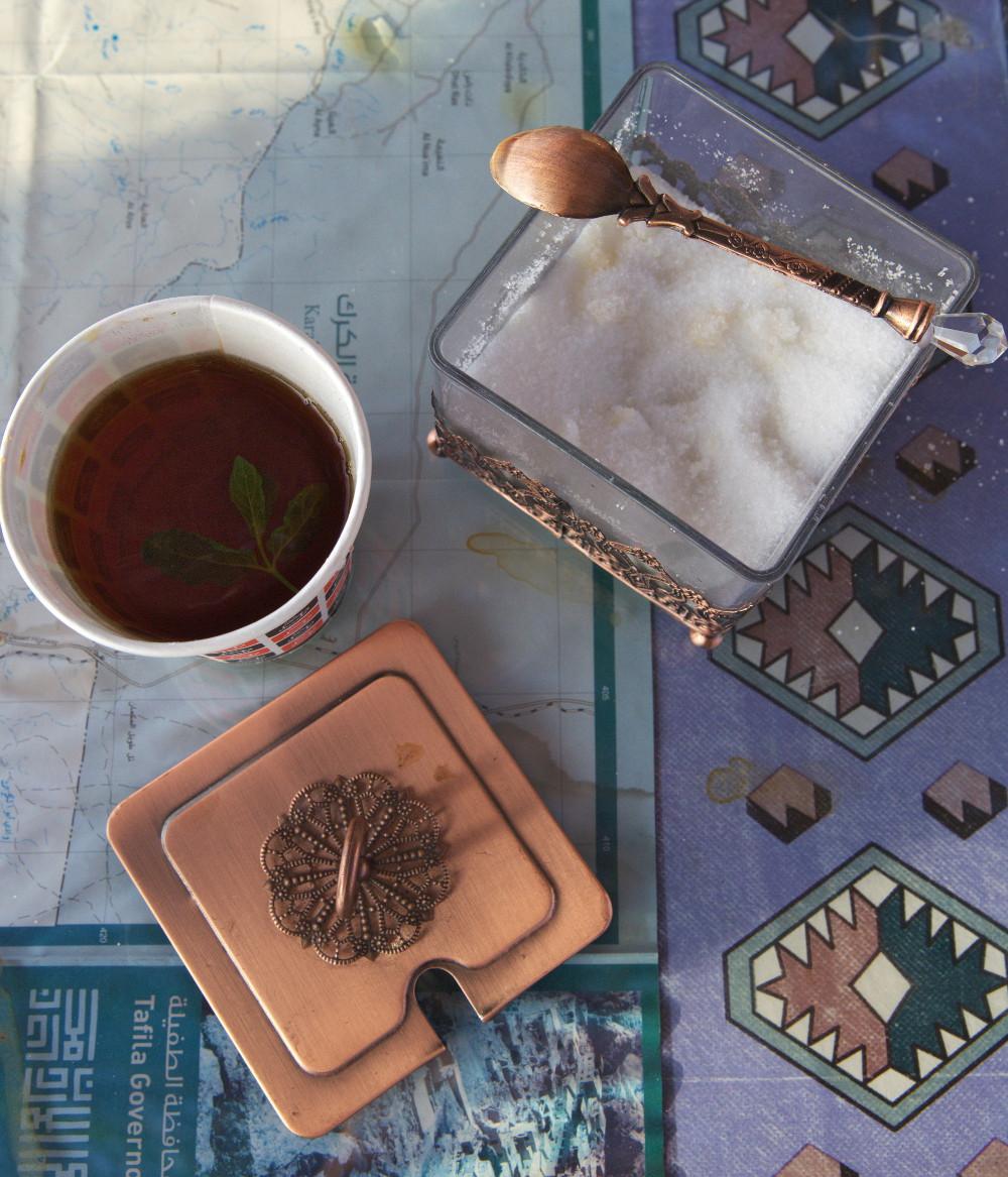 thé jordanie