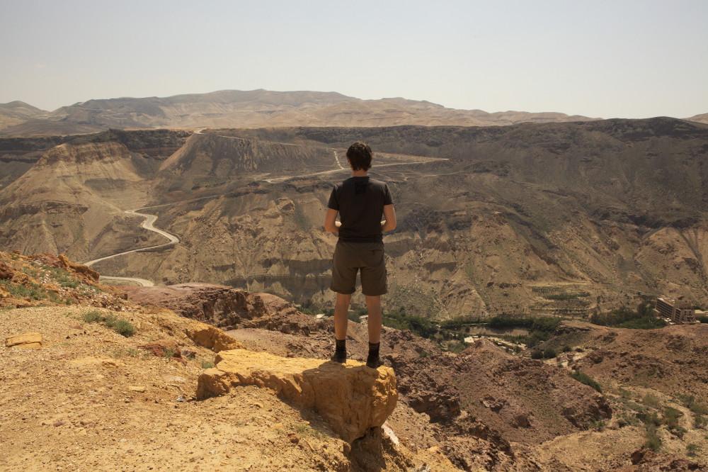 vue désert