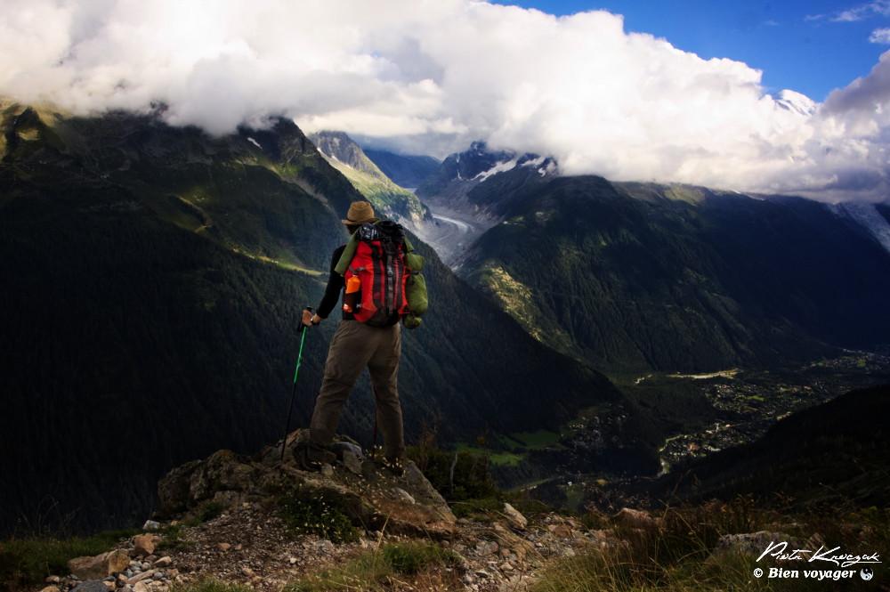 marcheur tour du mont blanc