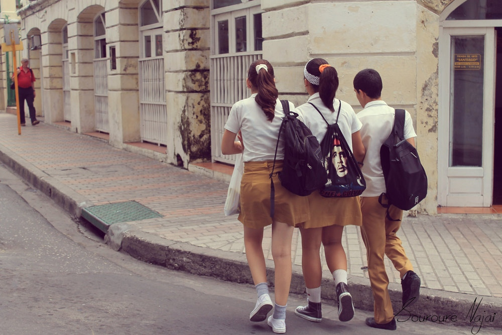 étudiants-cuba