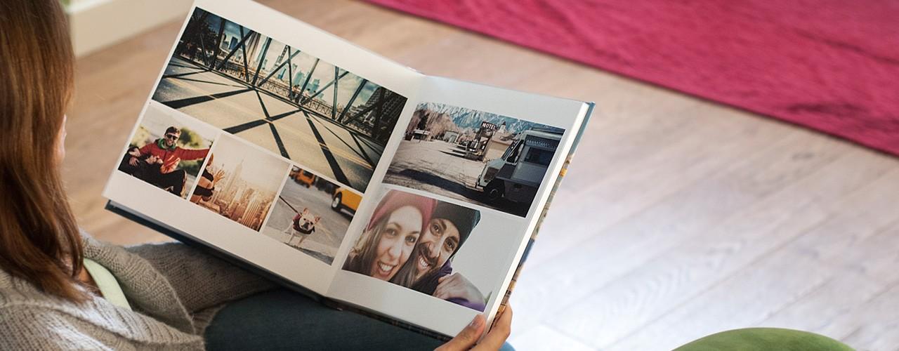 se cr er un album de photos souvenirs. Black Bedroom Furniture Sets. Home Design Ideas