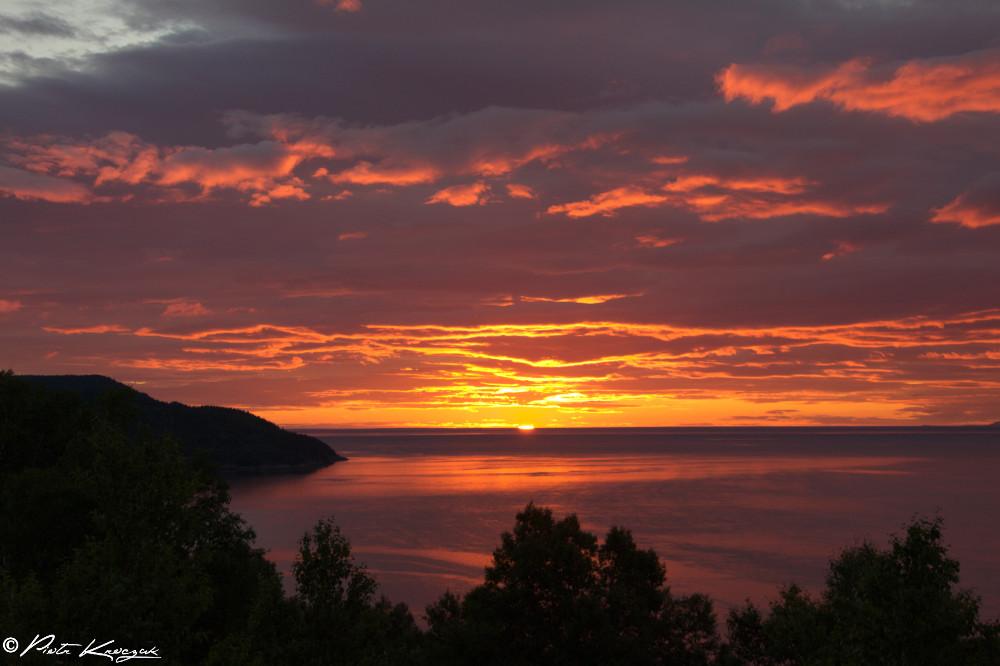 lever de soleil dune tadoussac