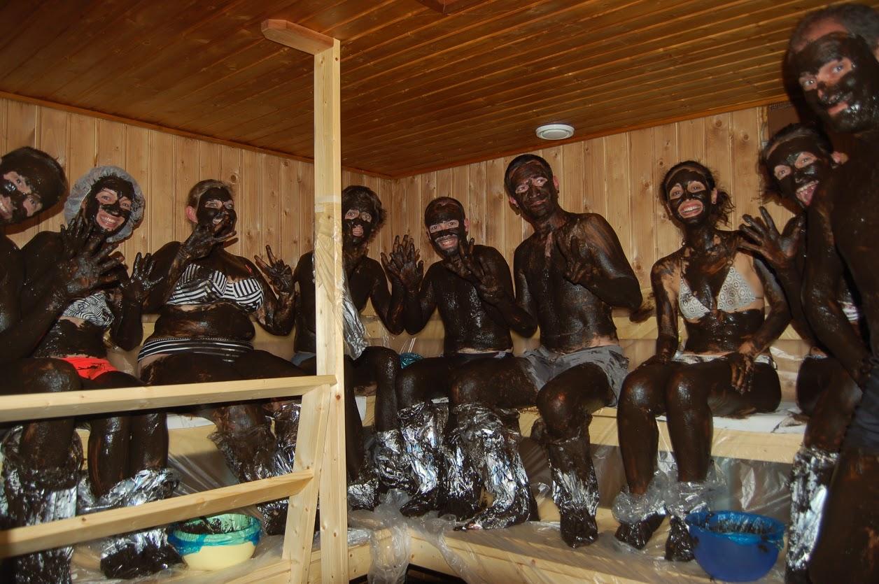 sauna finlandais électrique