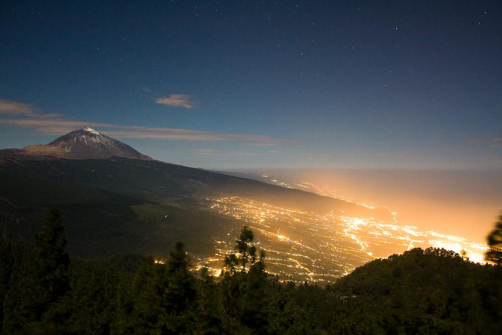 Tenerife la nuit