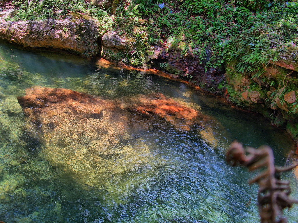 piscine naturelle Republique Dominicaine