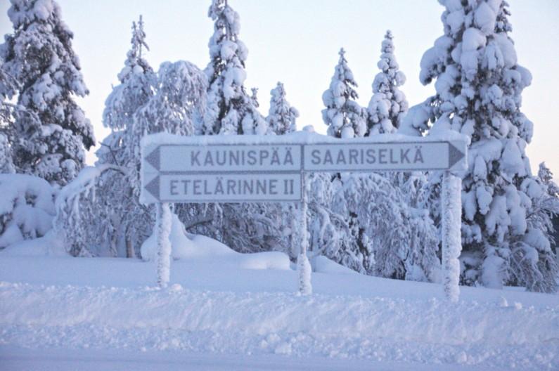 panneau sariselka finlande