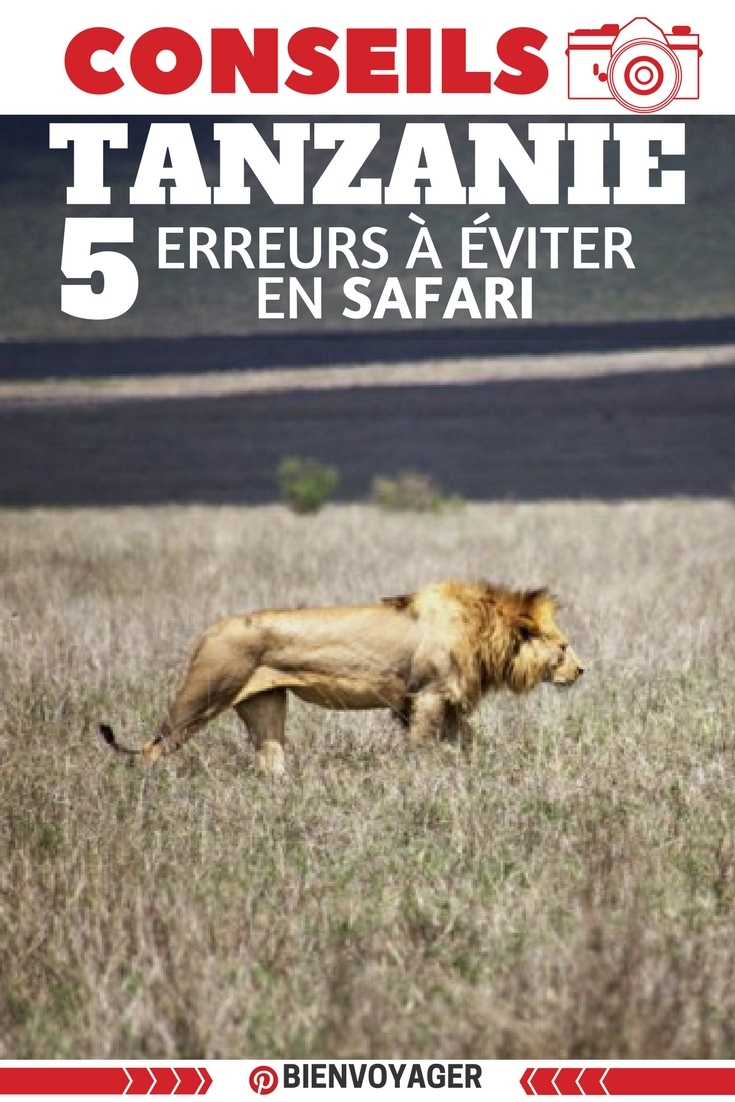 5 eurreurs a eviter en safari