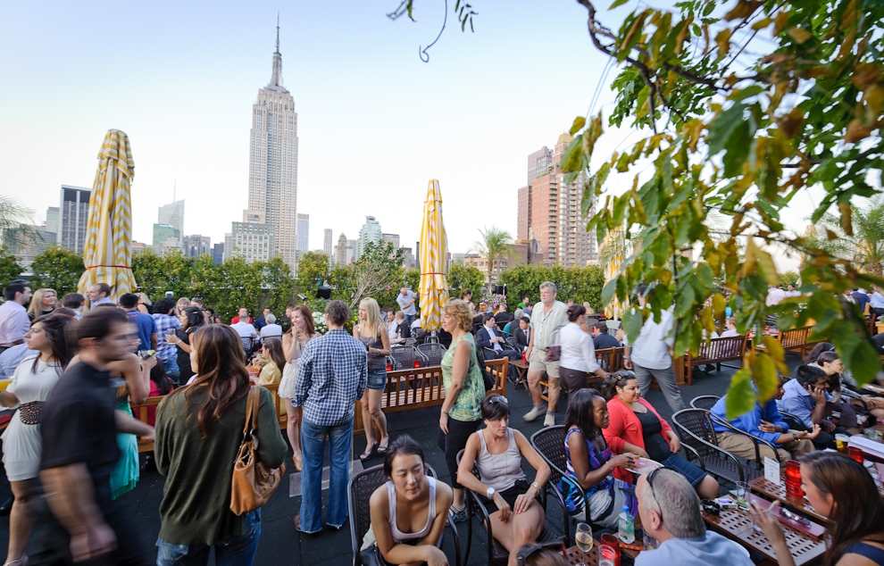 Rooftop Bar, NYC