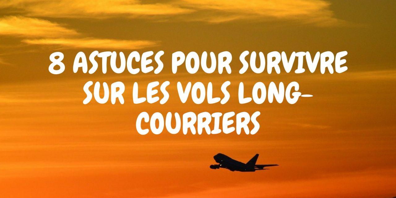 Bien voyager en avion : 8 astuces pour survivre sur les vols long-courriers