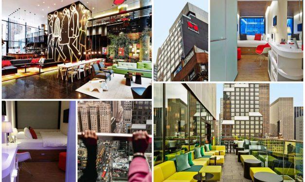 10 hôtels insolites à New York City.