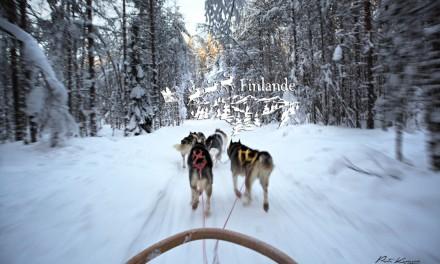Laponie finlandaise : Au pays du père Noël, des motoneiges et des huskys à Rovaniemi