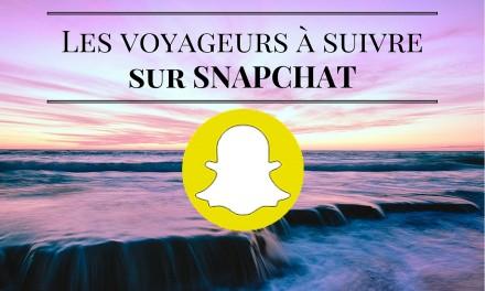 Voyage, les comptes snapchat à découvrir !