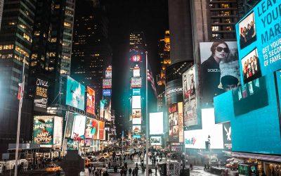 Dans les rues glacées de New York