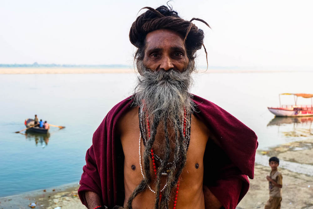Photo 5 Inde varanasi sadhu