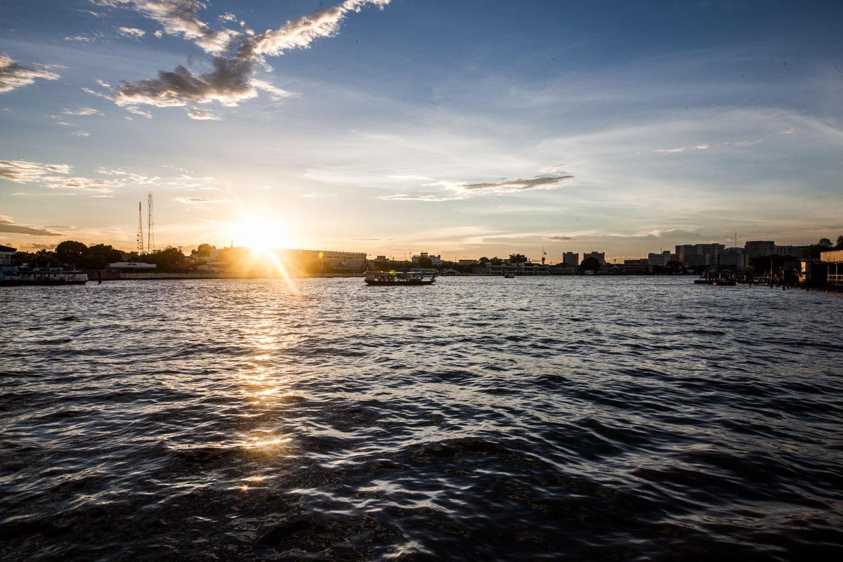 Bangkok - une croisière sur le fleuve Chao Phraya
