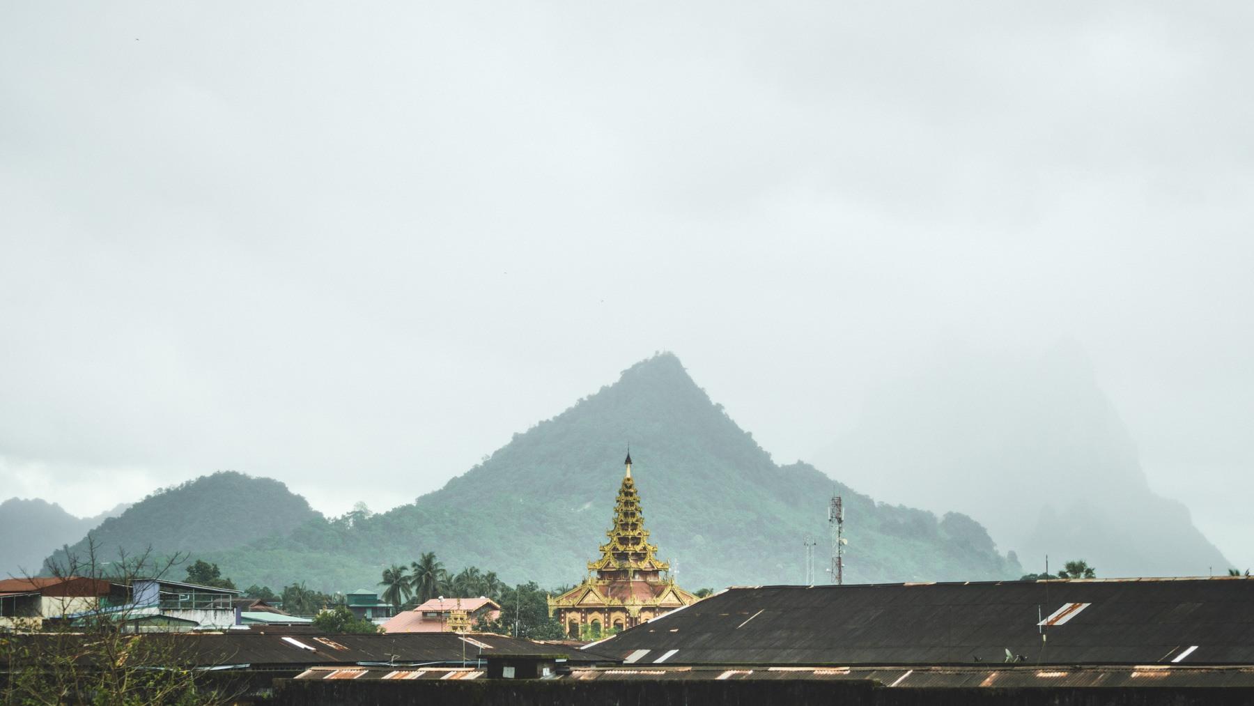 Voyage en BIRMANIE : Myawaddy à Hpa-an